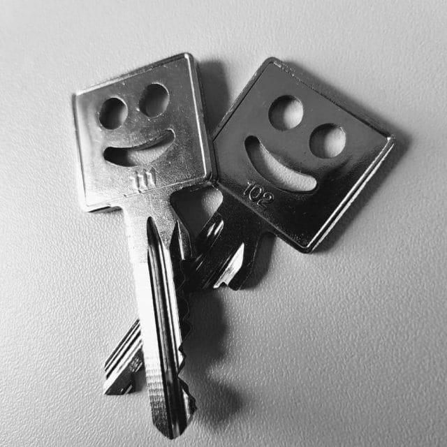 Schlüssel zur Agentur