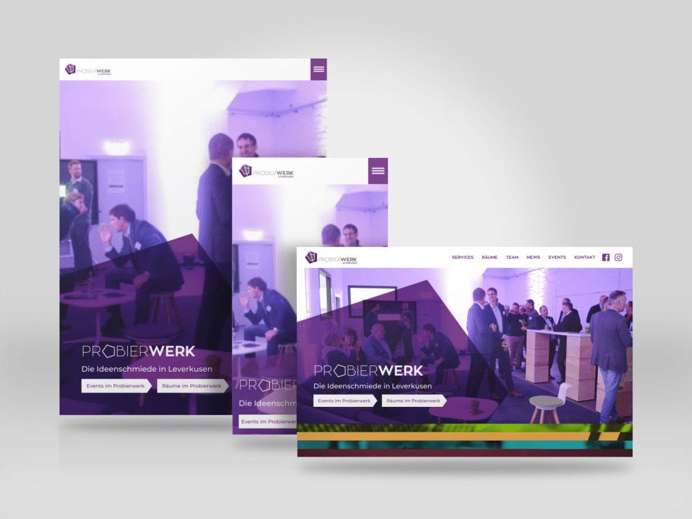 Responsive Webdesign Probierwerk Leverkusen