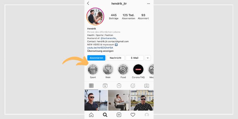 Bio Bei Instagram